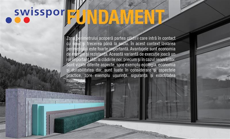 Producator polistiren expandat si sisteme de termoizolatii - Sistemul Fundament